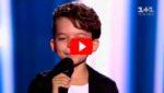 Ради возлюбленной, этот юнец вышел на сцену и круто спел хит Тото Кутуньо  «L'Italiano»