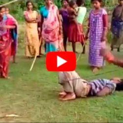 В Индии матери до смерти избили педофила - Видео, которое облетело весь мировой ИНТЕРНЕТ