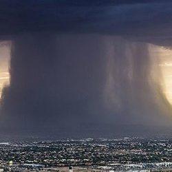 Самое необычное явление за последнее время: небо будто бы просто упало на землю и растеклось...