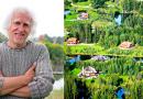 Миллионер из Латвии приобрёл 3000 га леса и построил там «Город Солнца». Поразительное зрелище…