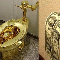 Даже для богачей эти вещи неприлично дорого стоят...