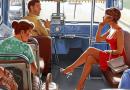 Наступив женщине на ногу, мужчина практически сразу извинился. Её ответ ему заставил весь автобус затихнуть в ошеломлении…