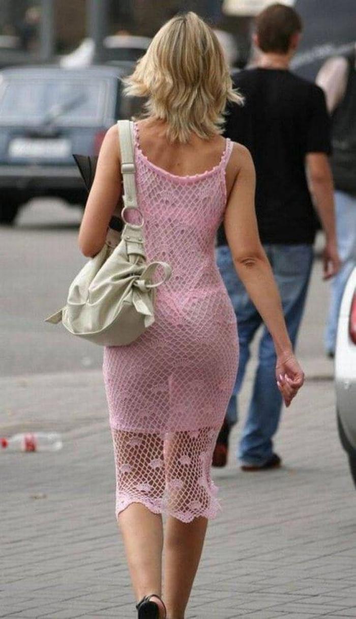 Жен в прозрачной одежде фото