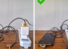 8 самых глупых ошибок при использовании зарядок для телефонов